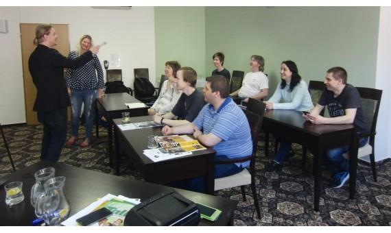 Intenzivní víkendový kurz angličtiny v Hrotovicích u Třebíče