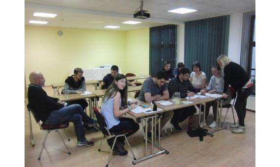 Intenzivní víkendový kurz angličtiny v Hrotovicích